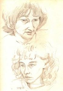 Diana Herrington and Jane Champion