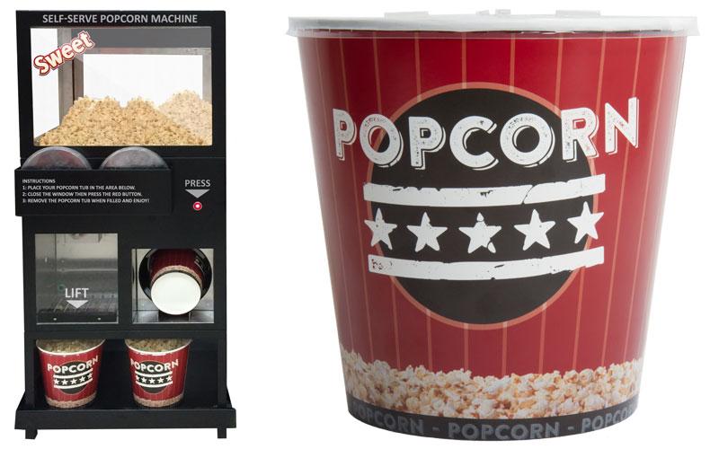 Sephra Self Serve Popcorn Machine