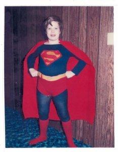 Chris as Superman