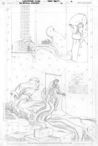 Strikes #11 - Title Page pencils