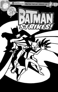 Batman Strikes #13 - cover sketch a