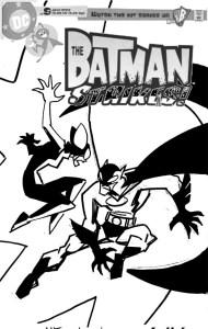 Batman Strikes #13 - cover sketch f