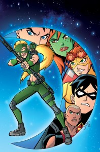 Young Justice #7 cover color