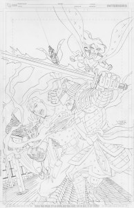YJ #10 cover pencils