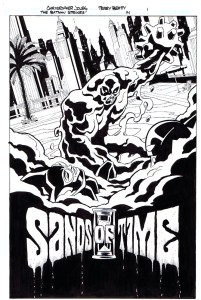 Strikes #14 - Title Page inks