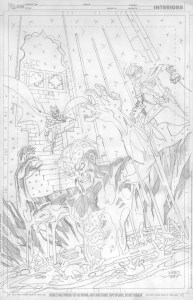 Young Justice #11 - Cover Pencils