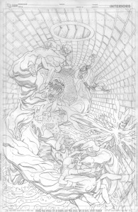 Young Justice #12 - Cover Pencils