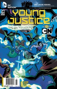 Young Justice #14 Cover