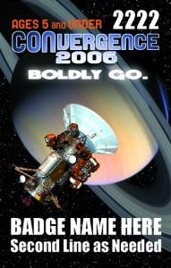 #CVG2006 - 5 and Under Badge