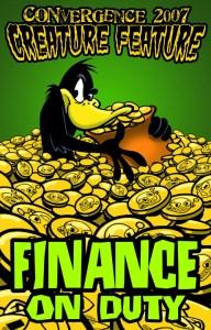 #CVG2007 - Finance Badge