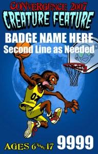 #CVG2007 - Teen Badge