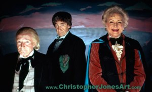 The Three Doctors - Hartnell Troughton & White