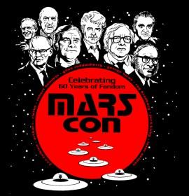 Marscon T-Shirt art I did in 2001