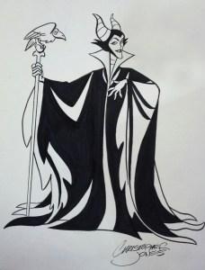 Sketch Maleficent