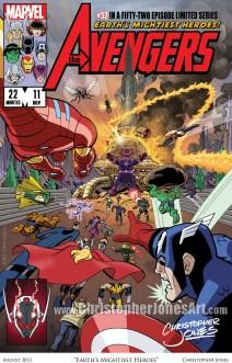 Earths Mightiest Heroes - Framed prev