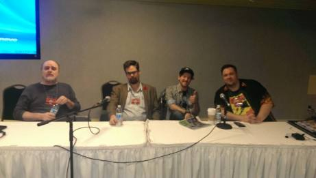 Ty Templeton, Tom Fowler, Wordburgler & I talk about why we love comics
