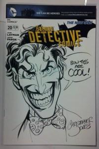 Joker Sketch Cover for Strange Adventures