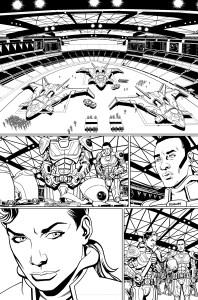 Parallel Man #04 inks 14 prev