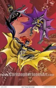 Go Team Batgirl! print