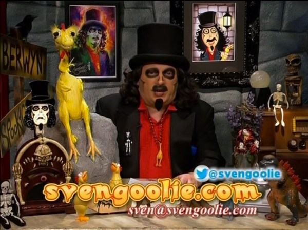 Art on Svengoolie Set