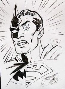 Sketch - Composite Superman headshot