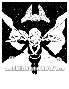 Miss Martian print- prev