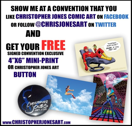 Free mini-prints and buttons