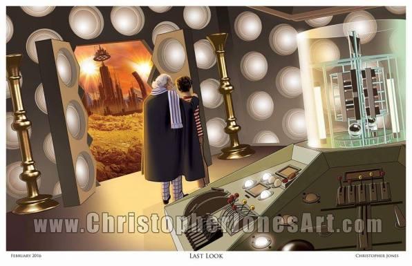 Last Look Doctor Who print by Christopher Jones
