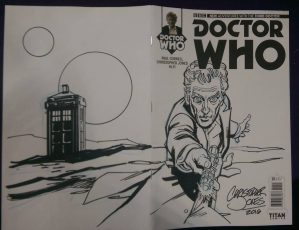 Sketch Cover - Capaldi Wrap