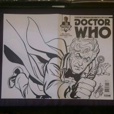 Sketch Cover - Pertwee Wrap Around