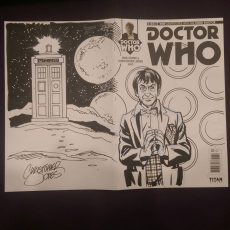 Sketch Cover - Troughton w Background
