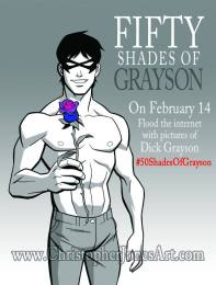 Fifty Shades of Grayson variant print