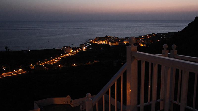 La Calera bei Nacht