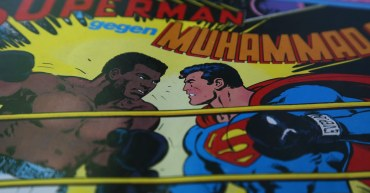 "Comic-Cover ""Superman gegen Muhammad Ali"", EHAPA-Verlag, © DC-Comics 1978"