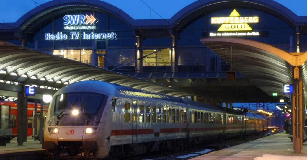 Oktober im Mainzer Hauptbahnhof