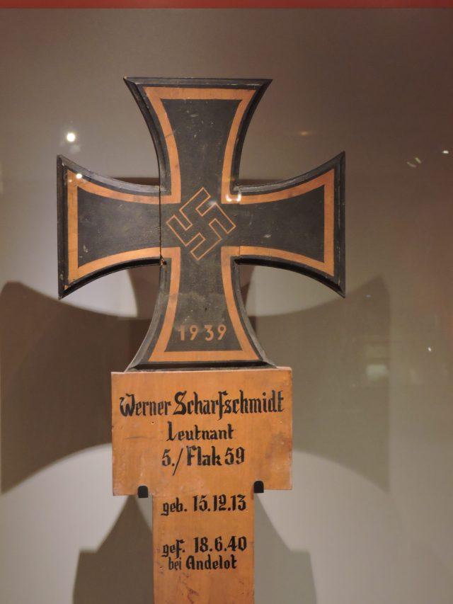 German Soldier Grave Mark