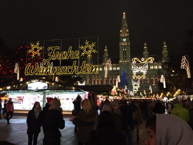 Wiener Rathaus Christmas market