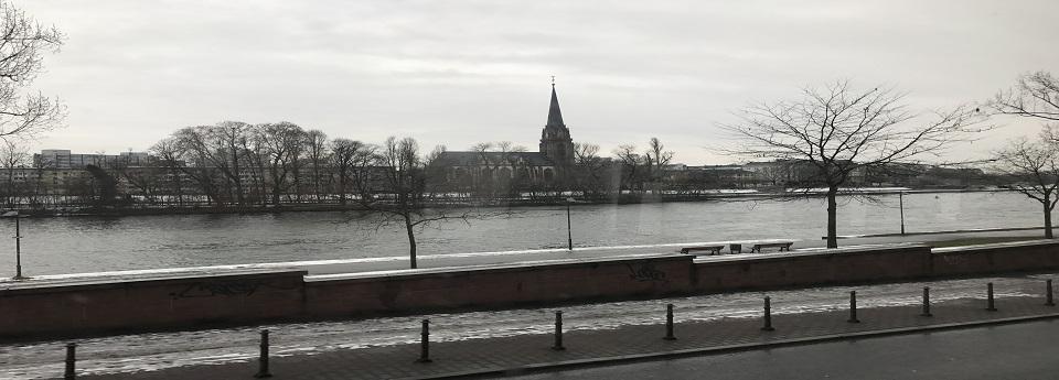 Dreikönigskirche, Frankfurt am Main, Hessen, Deutschland