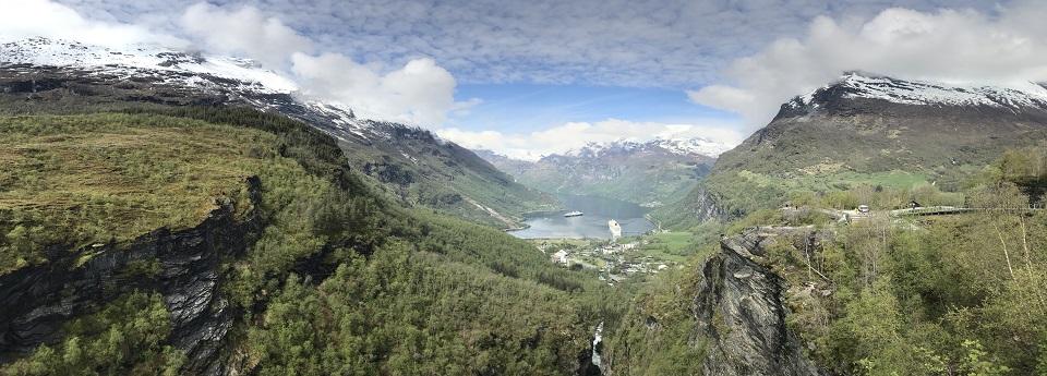 Geiranger, Sunnmøre, Møre og Romsdal, Norge