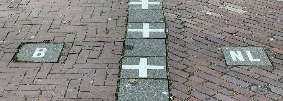 Baarle Hertog, Turnhout, België / Baarle Nassau, Noord Brabant, Nederland