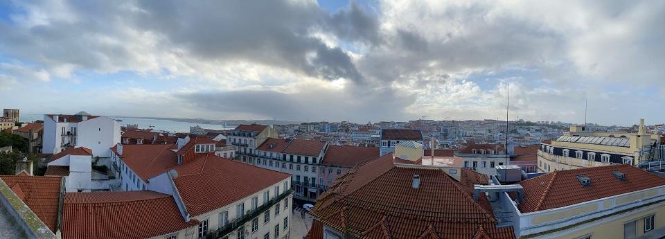 Baixo-Chiado do Castelo de São Jorge, Lisboa, Portugal