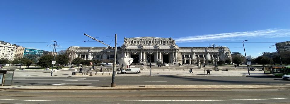Stazione Centrale di Milano, Milano, Lombardia, Italia