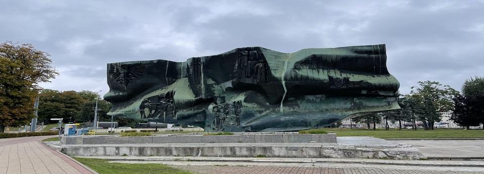Pomnik Odrodzenia na Placu Konstytucji, Elbląg, województwo warmińsko-mazurskie, Rzeczpospolita Polska