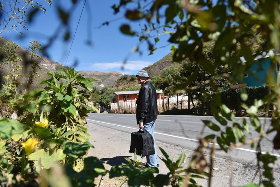 Danile reads the landscape...
