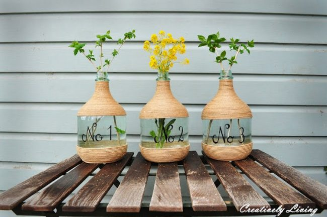 saks%C4%B16 650x432 - decorative vases and pots are designed with 10 bottles and boxes
