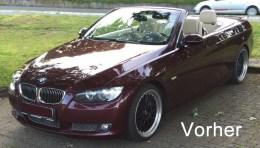 CiFol-Werbetechnik-3er BMW Cabriolet Bordeaux