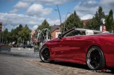 MB S500 Cabrio - Super Chrome Red Gloss - CiFol-Werbetechnik (5)