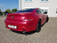 BMW 6er - Cherry Red - CiFol-Werbetechnik (1)