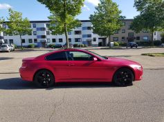 BMW 6er - Cherry Red - CiFol-Werbetechnik (4)