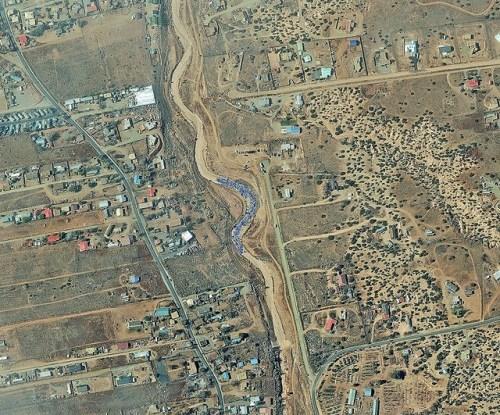 Gambar satelit. Digital Globe
